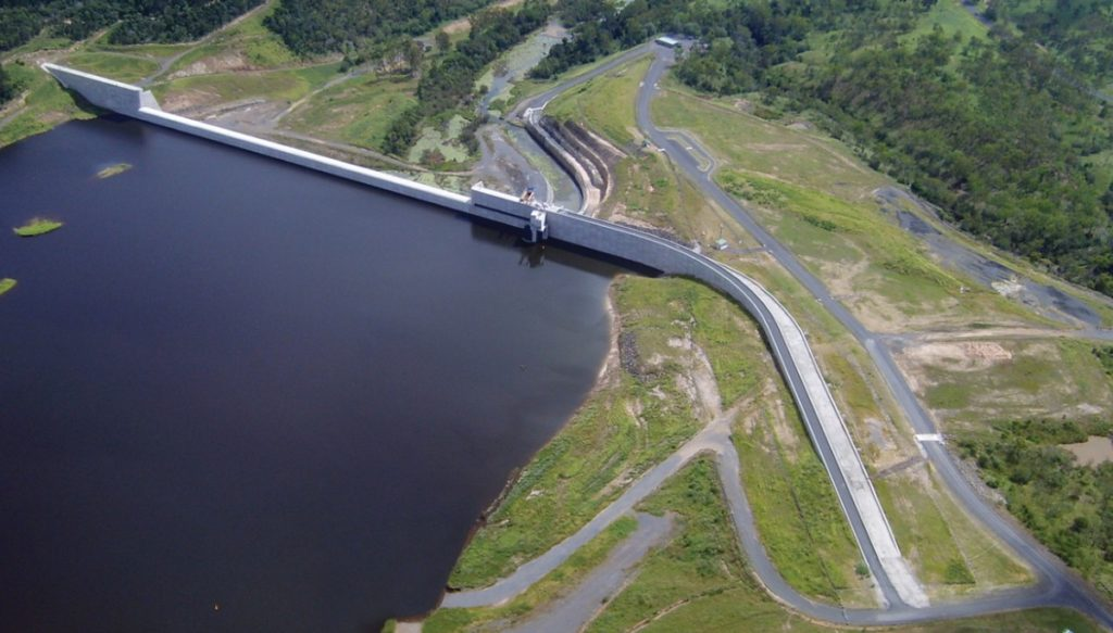 Water trading from Paradise Dam has increased.