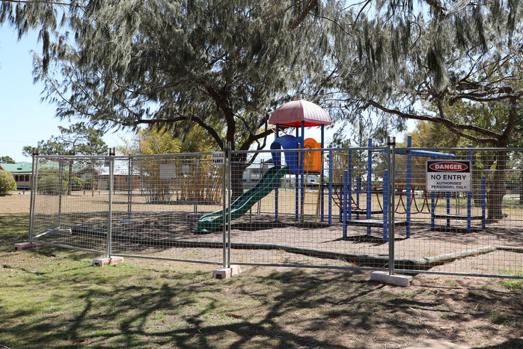 Outdated play equipment to the north of the reserve will be replaced with new equipment in the beachside play area