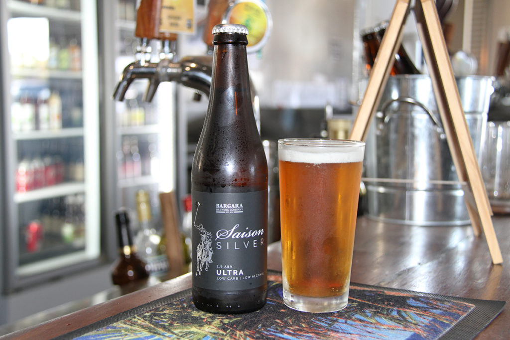 Bargara Brewing Company new addition Saison Silver