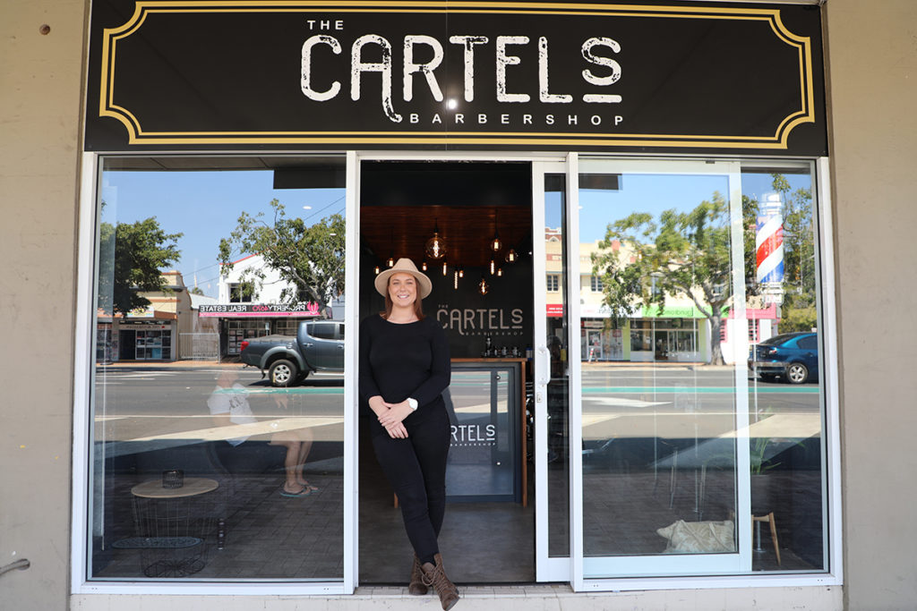 The Cartels Barber Shop: Jess Smoothy has just opened up the barber on Bourbong Street.