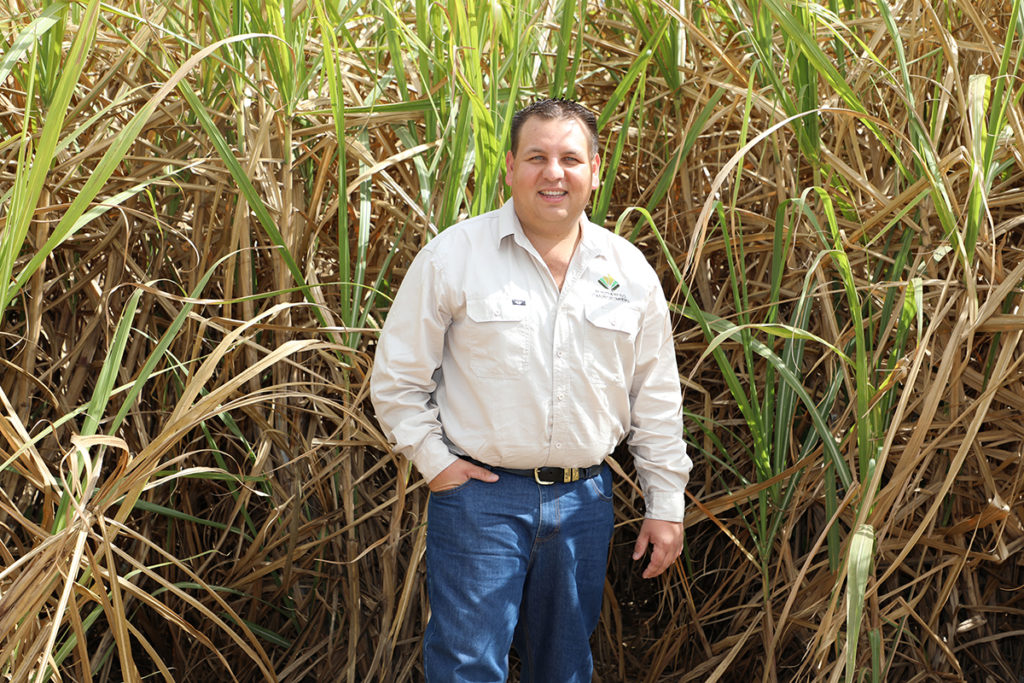 NEXT CROP: Michael Cavallaro has just completed a program which aims to inspire young future leaders of the sugarcane industry.