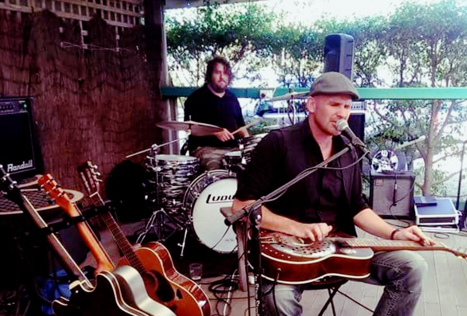 Bevan Spiers will be performing at The Waves this weekend with his band, Wild Sauce.