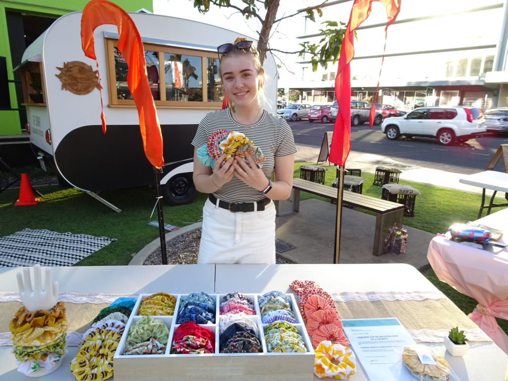 Young Creator's Market Laura's Scrunchies