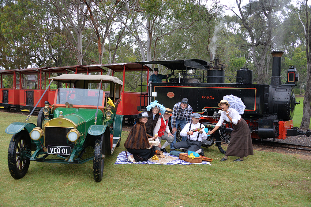 The Botanic Gardens is set to go back in time when the 2019 National Veteran Vehicle Rally Picnic in the Park comes to the region this weekend.
