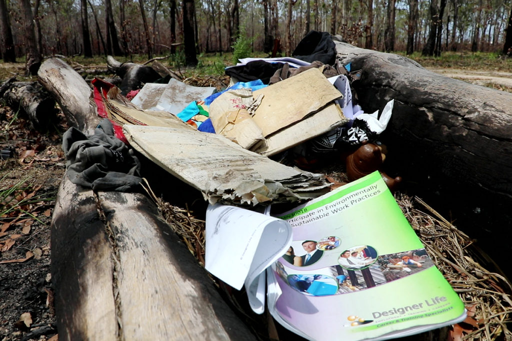 illegal dumping officers