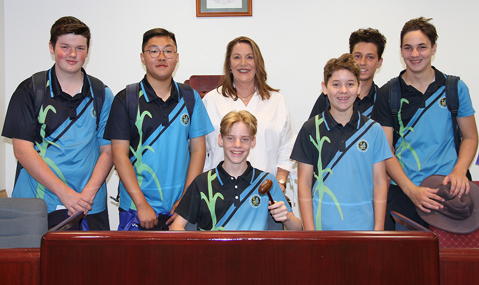Bundaberg Christian College students