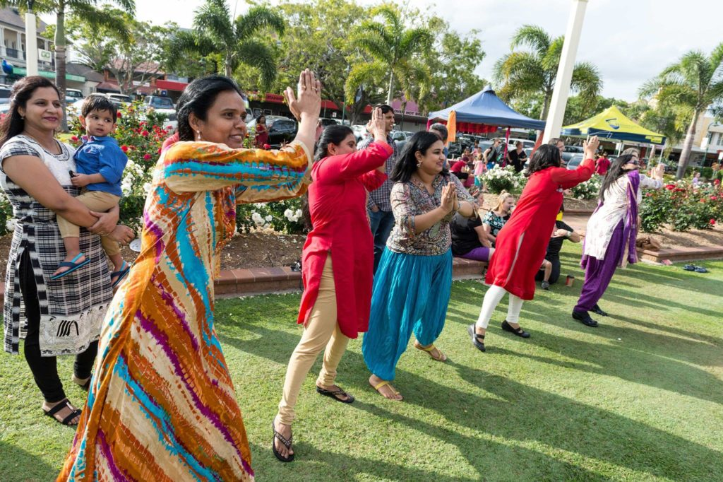 The Bollywood Dance workshop in Buss Park will be part of Confluence Festival again this year, and will also be featured in Bargara.