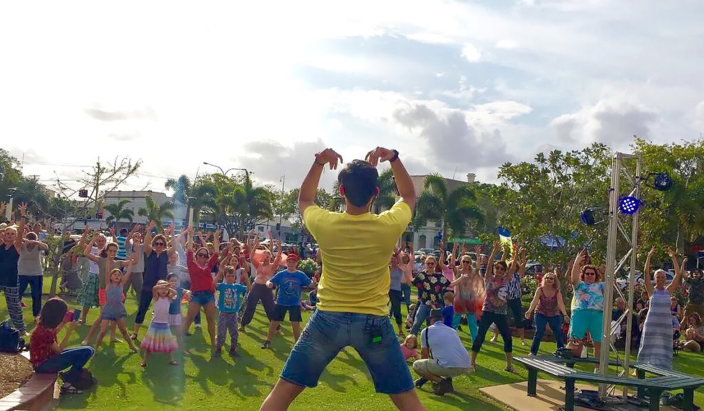 There will be plenty of dancing at the two-day Confluence Festival when it comes to Bundaberg and Bargara soon.