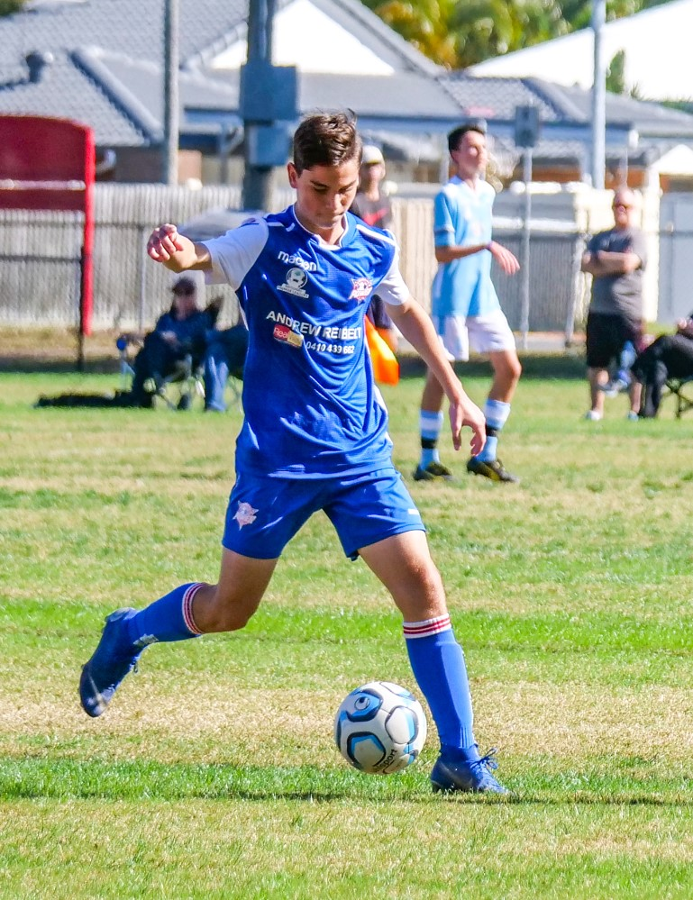 Ethan has loved playing football ever since his early days with Bundaberg Football Club.