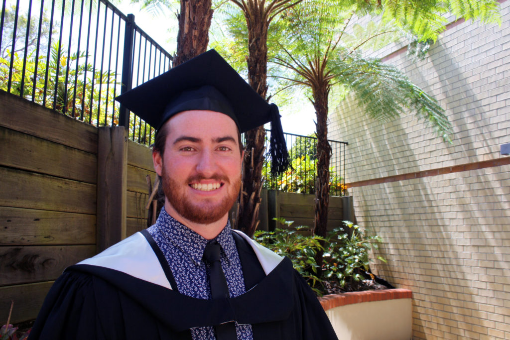 EXERCISE SCIENCE: USC graduate Jacob Hohn is teaching Bundaberg students all about exercise phsiology and biomechanics.