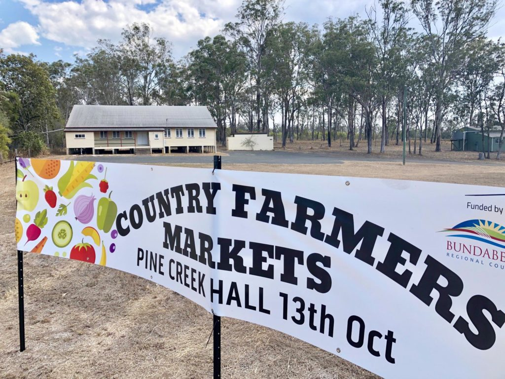 Pine Creek Hall Country Farmers Markets