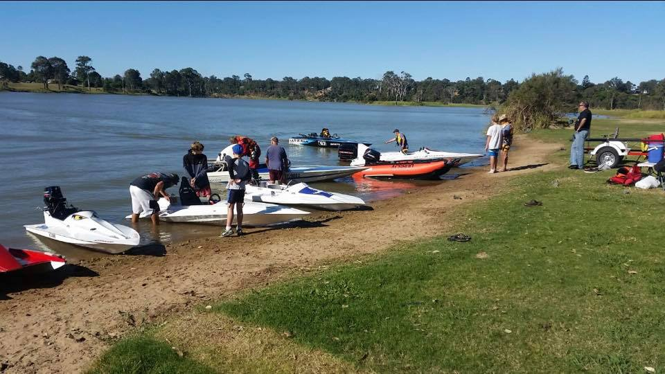 Family fun with the  Bundaberg Powerboat Club