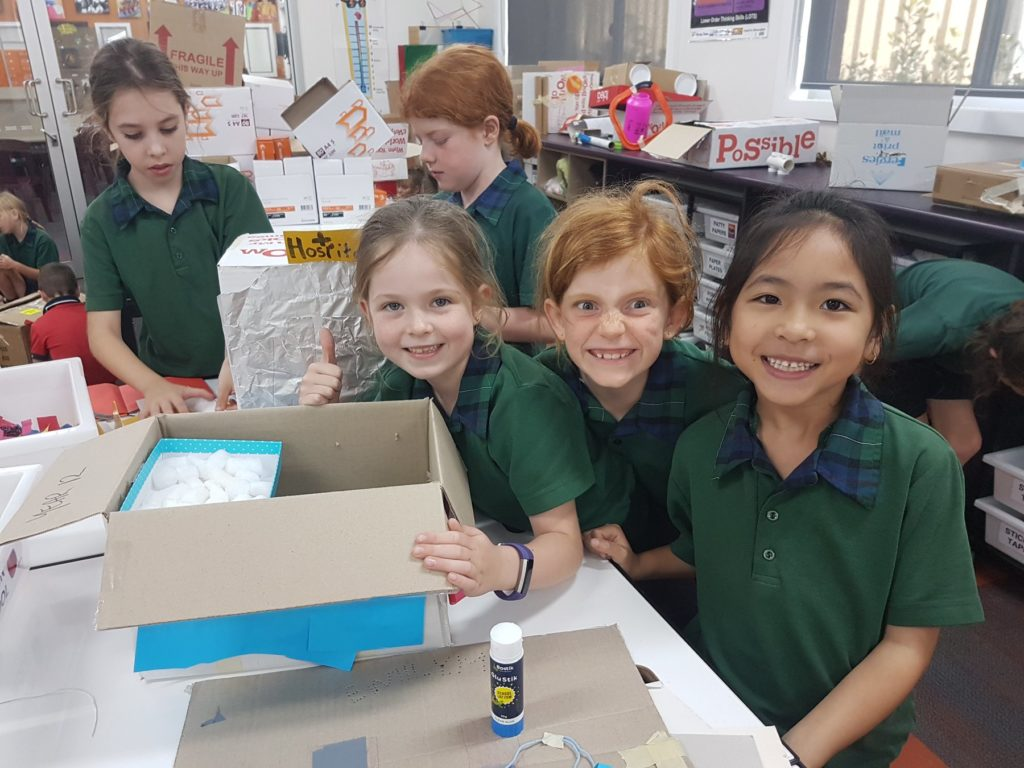 The Prep- Year 4 Cardboard Challenge will be part of the St Luke's Innovation and Entrepreneurship Day.