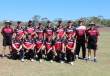 Wide Bay Flames team Bulls Masters Country Challenge 2019