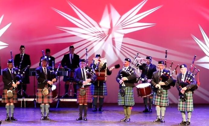 Bundaberg Caledonian Pipe Band