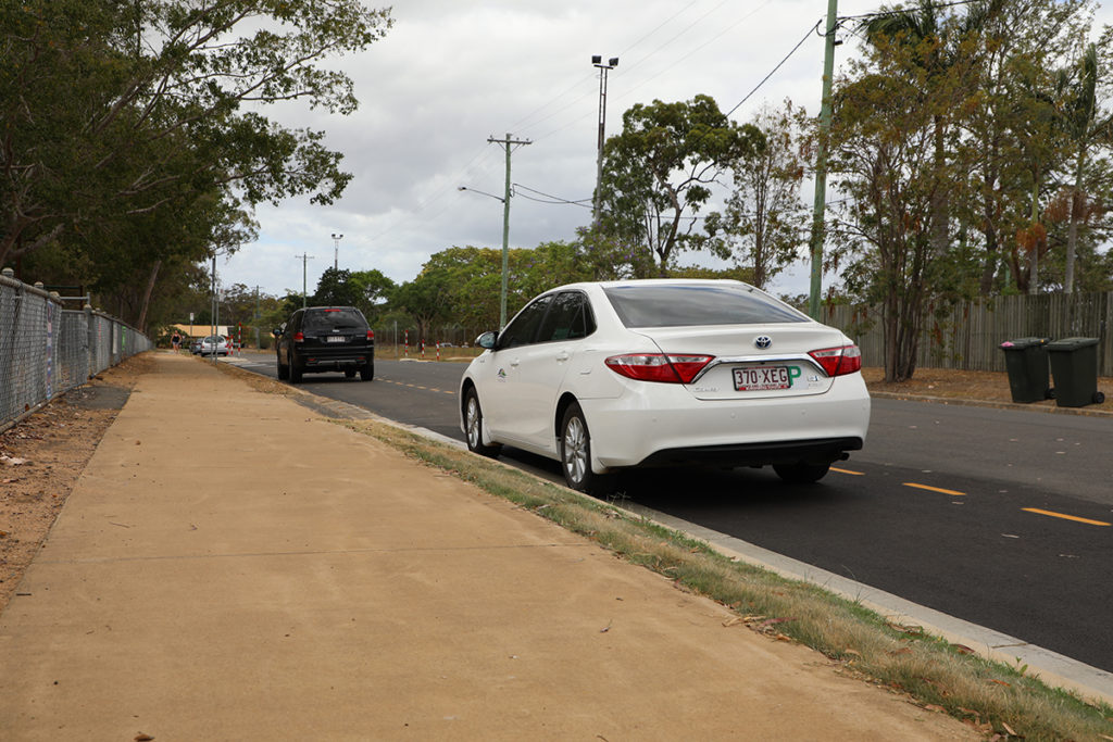 An extension to the Kiss and Go zone at Norville State School is assisting with traffic flow in the area.