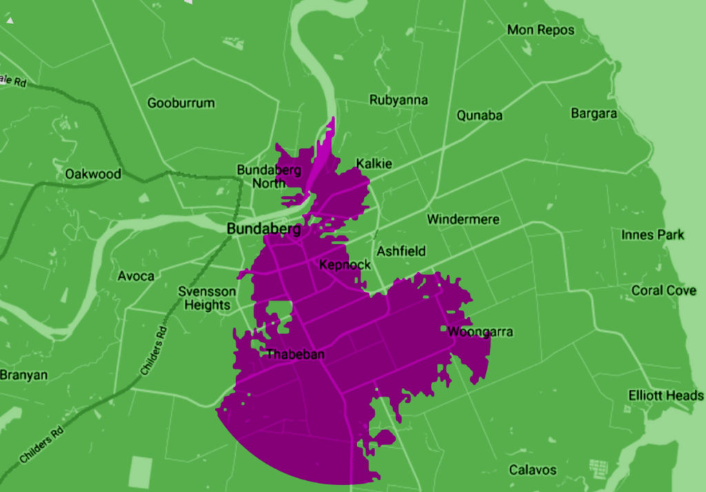 Telstra 5G coverage map