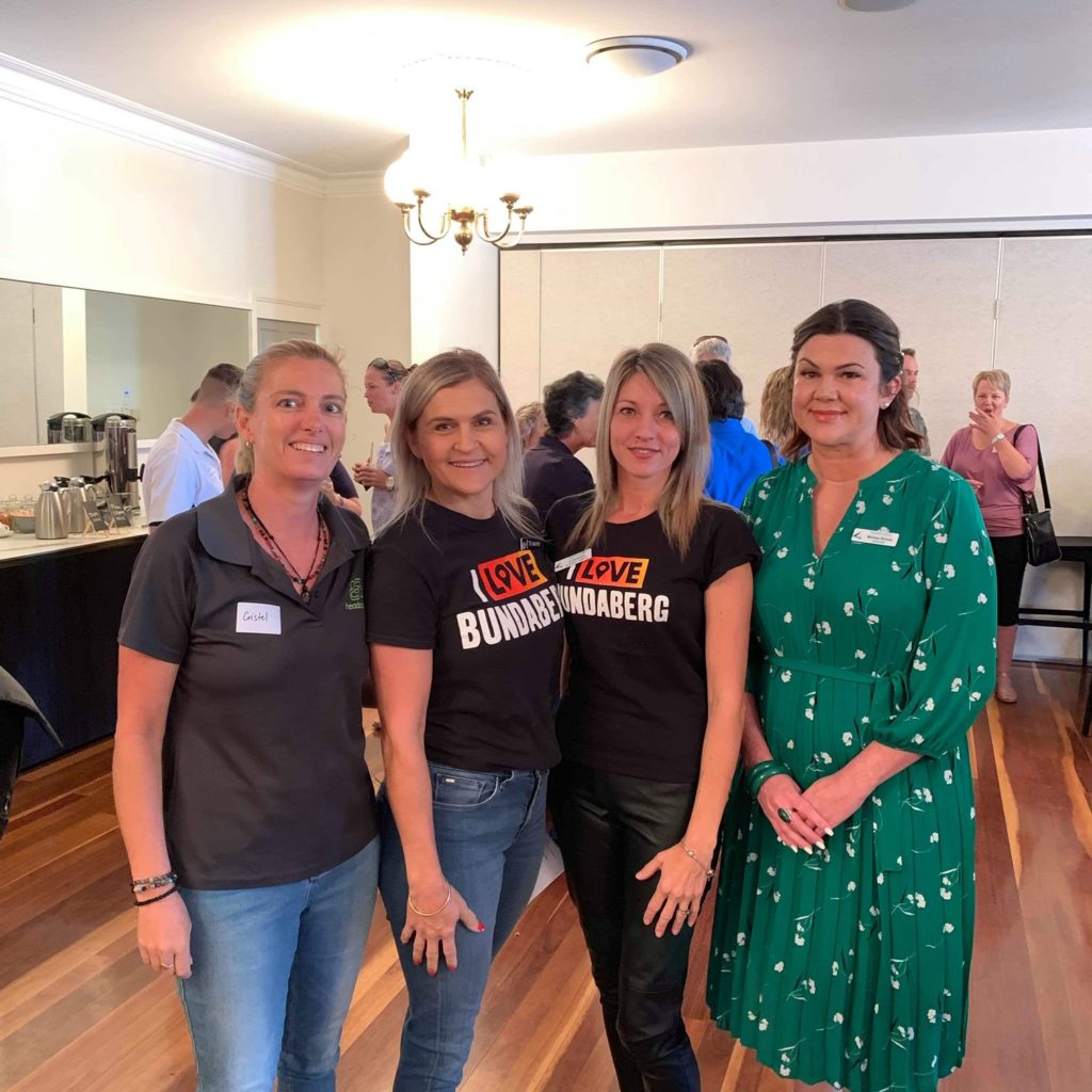 Bundaberg business today ame together to participate in the #lovebundy breakfast.