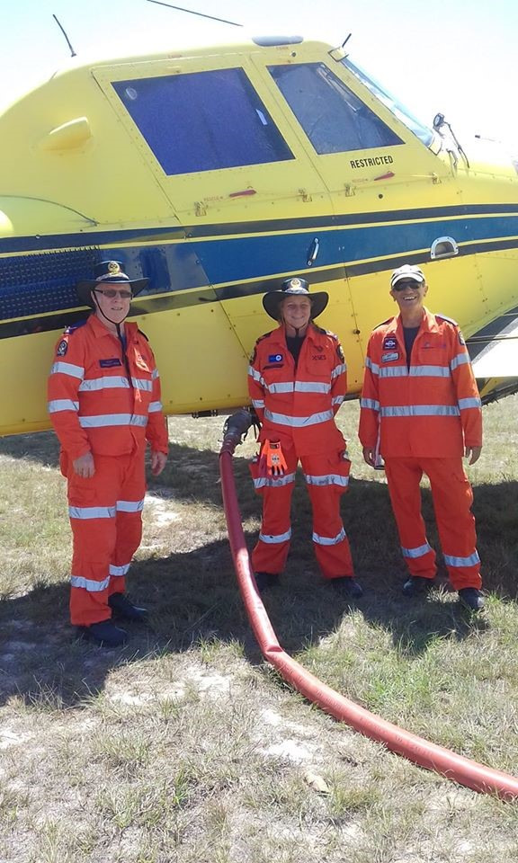 SES Crew on record-breaking day