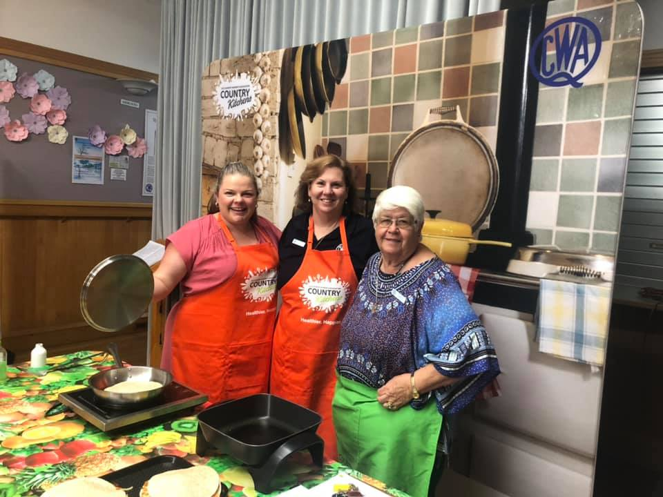 QCWA Lunchbox Classes are a big hit