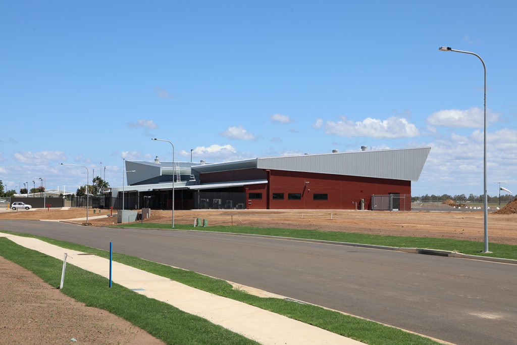The Bundaberg Aeromedical Base and Patient Transfer Facility is nearing completion.