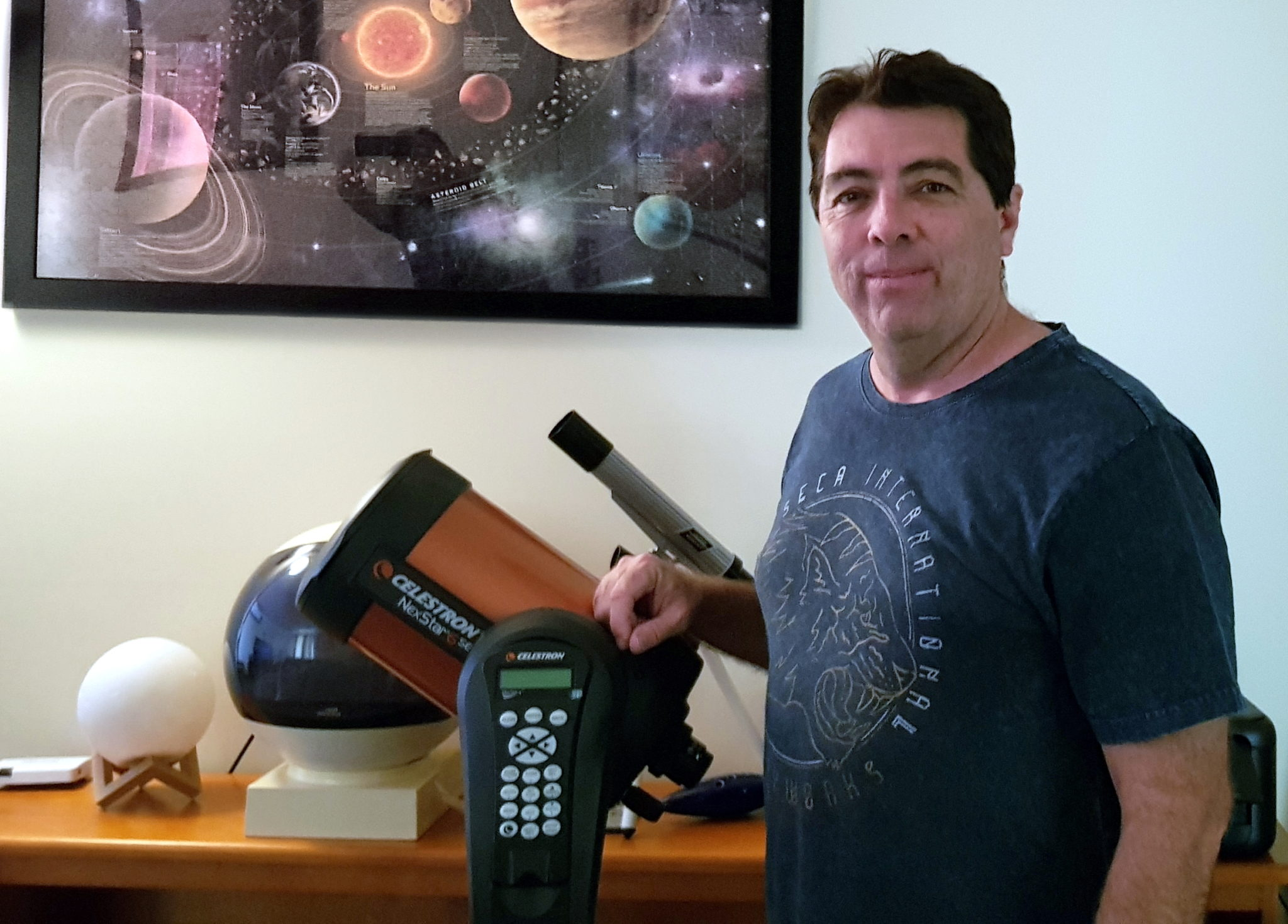 amateur astronomer Craig Collins