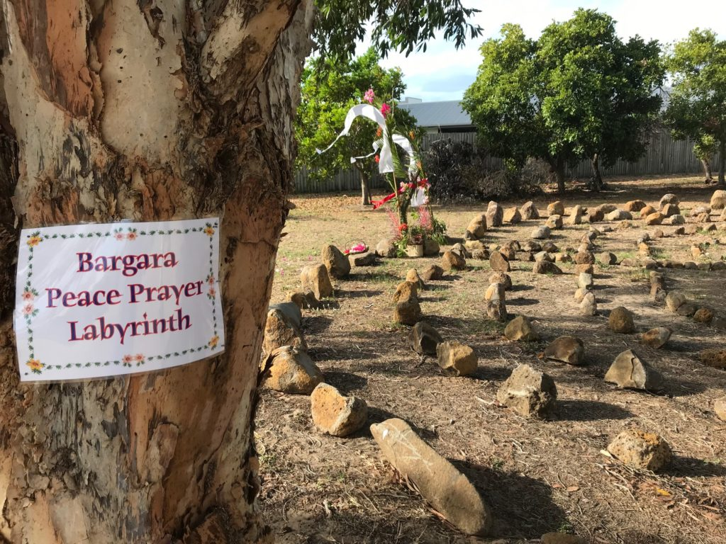 Bargara Labyrinth view