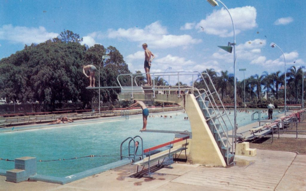 Picture Bundaberg: The Olympic Pool diving board.