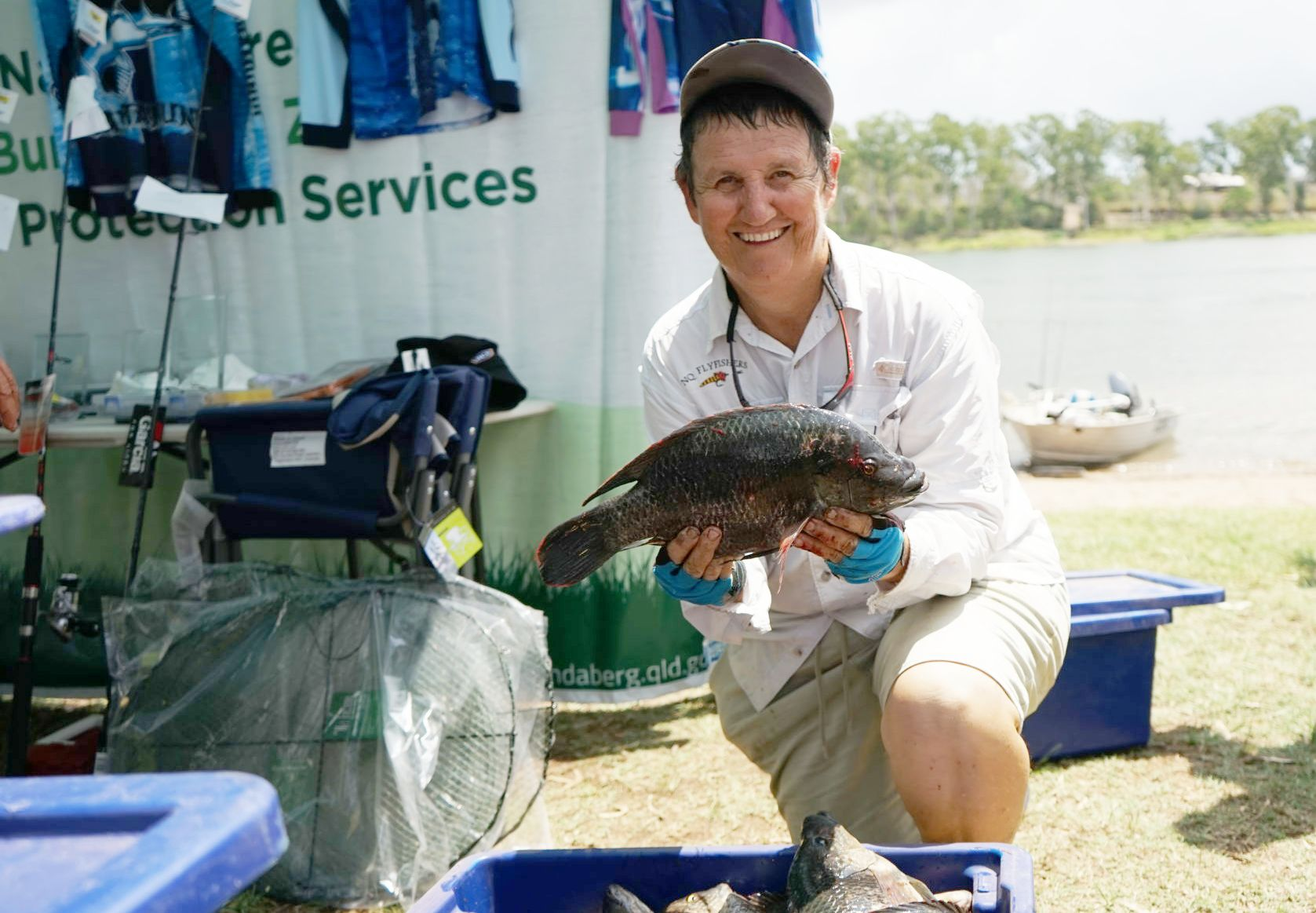 Tilapia fishing competition