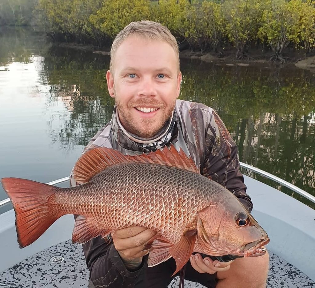 full moon fishing will be ideal this weekend on the Burnett River