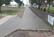 cycleway construction
