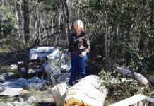 Cr May Mitchell with illegal dumping