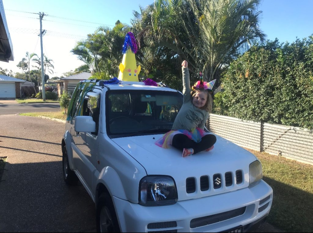 drive-by unicorn party