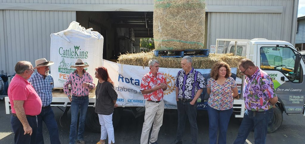 Northside Produce Rotary drought project