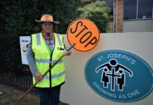 school crossing supervisor Lee Beljon