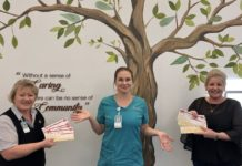 Nurses coffee vouchers