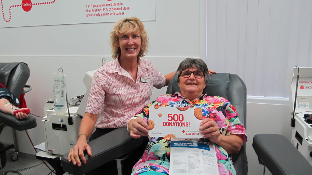 blood donor Robyn Murray