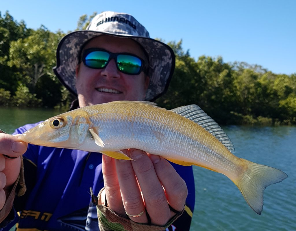 Tim Mulhall with a nice whiting he caught early in the week.