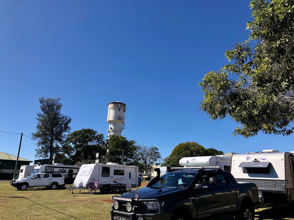 The popularity of the Childers RV Friendly parks has prompted the Childers Chamber of Commerce to seek a community noticeboard to install adjacent to the parking area.