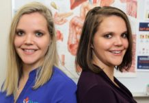 IWC Accredited Practising Dietitians Jessica and Chloe Bauer. Photo credit: Solana Photography