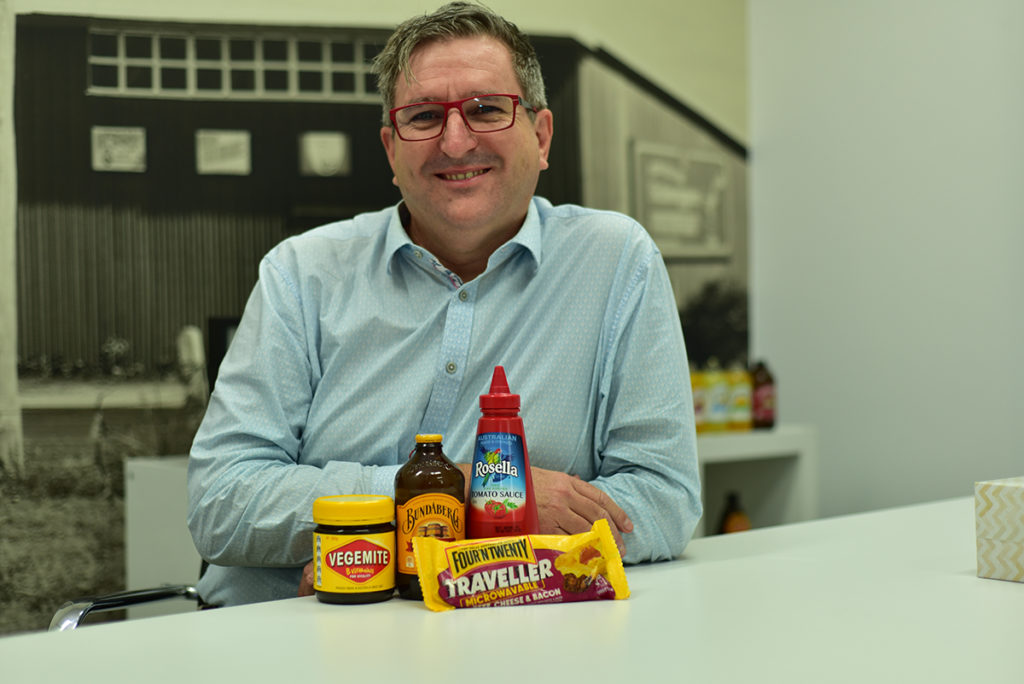 John McLean, CEO Bundaberg Brewed Drinks