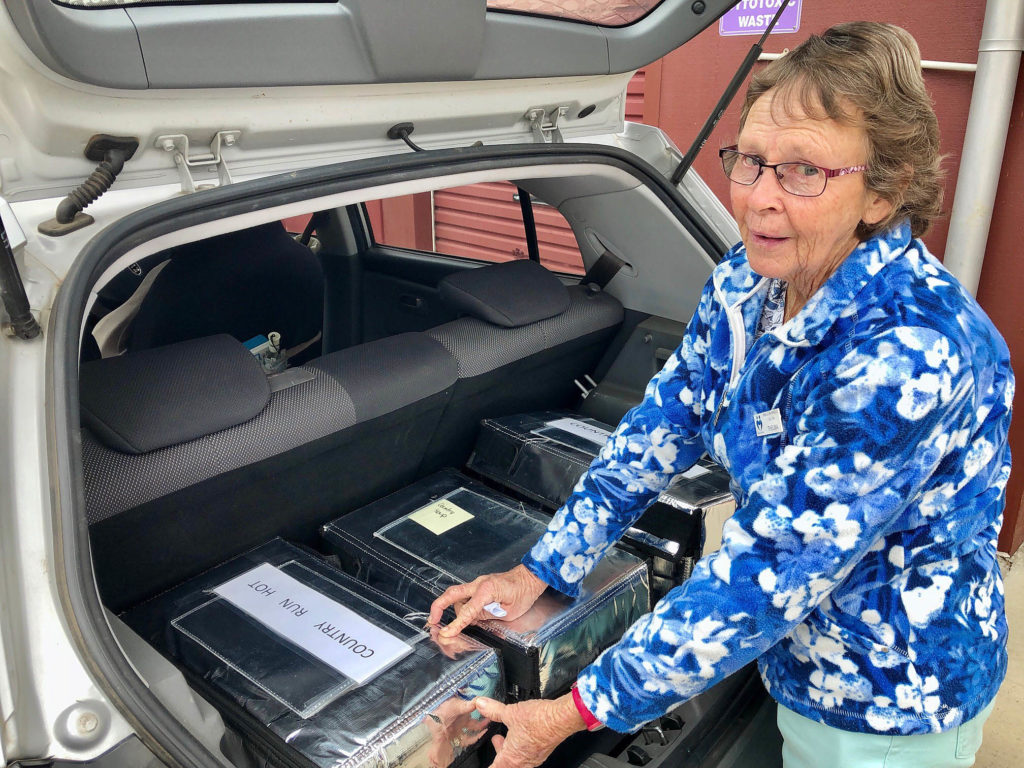 With more than 12 years service as a Gin Gin Meals on Wheels volunteer, Thelma Jensen would happily do more than her current three days a week.
