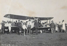 Bert Hinkler and his Avro Baby were the centre of attention when he became the first aviator to land in Childers on April 15, 1921.
