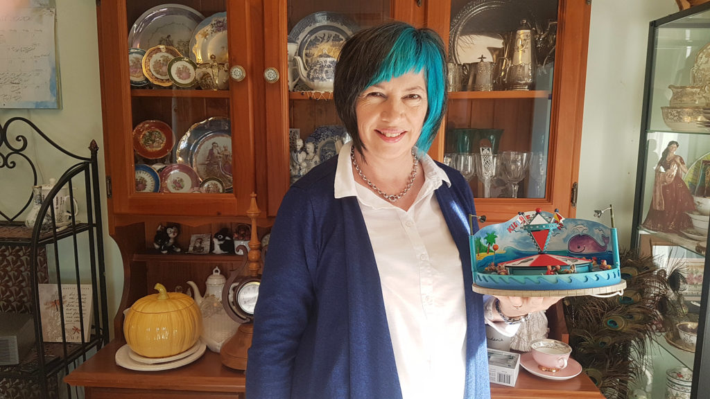 Josie Rigney is looking forward to bringing an extensive range of collectibles to Childers in October as she establishes her new business Clockwork Curiosities Museum and Gift Shop.