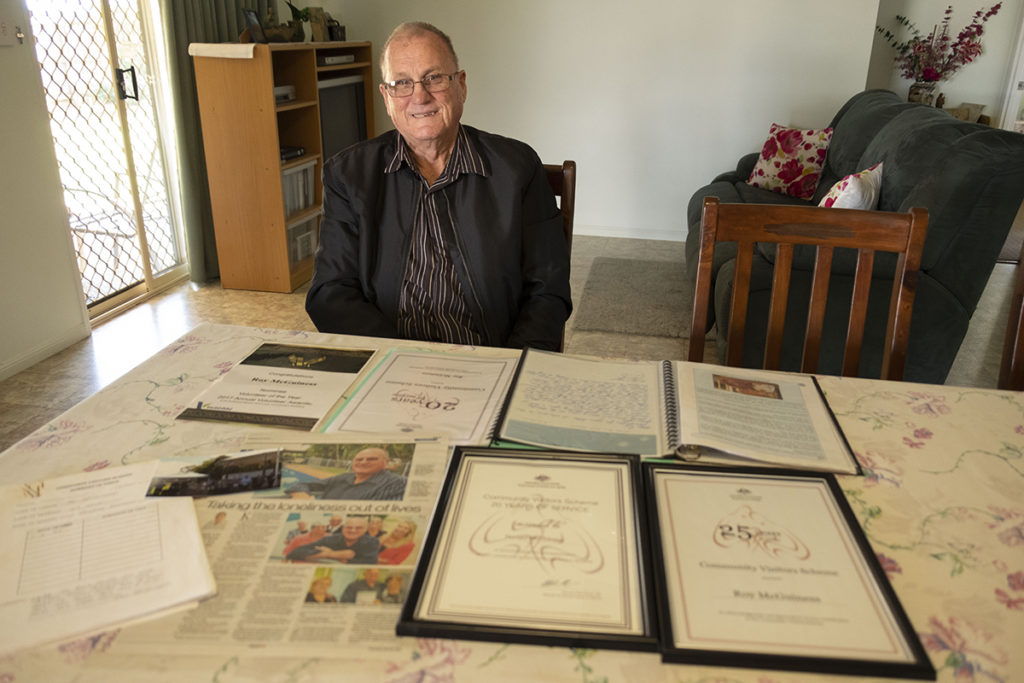 Roy McGuiness is hanging up the boots and celebrating 28 years of volunteering with IMPACT.