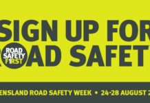 Sign up for road safety