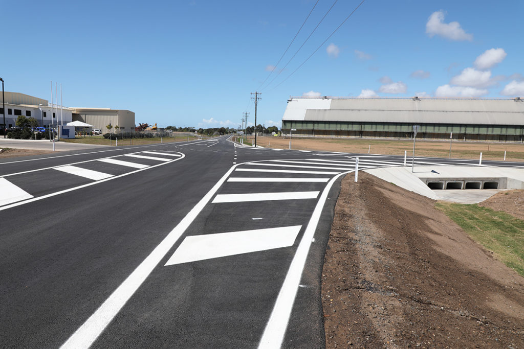 Buss and Newman Street upgrade at the Bundaberg Port