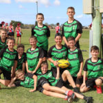 Winners of the Primary All Schools Boys Touch Tournament - East State School All Boys Team.