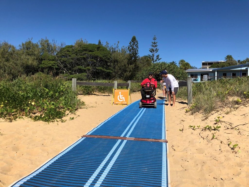 Beach accessibility is the focus of a CQUniversity survey.