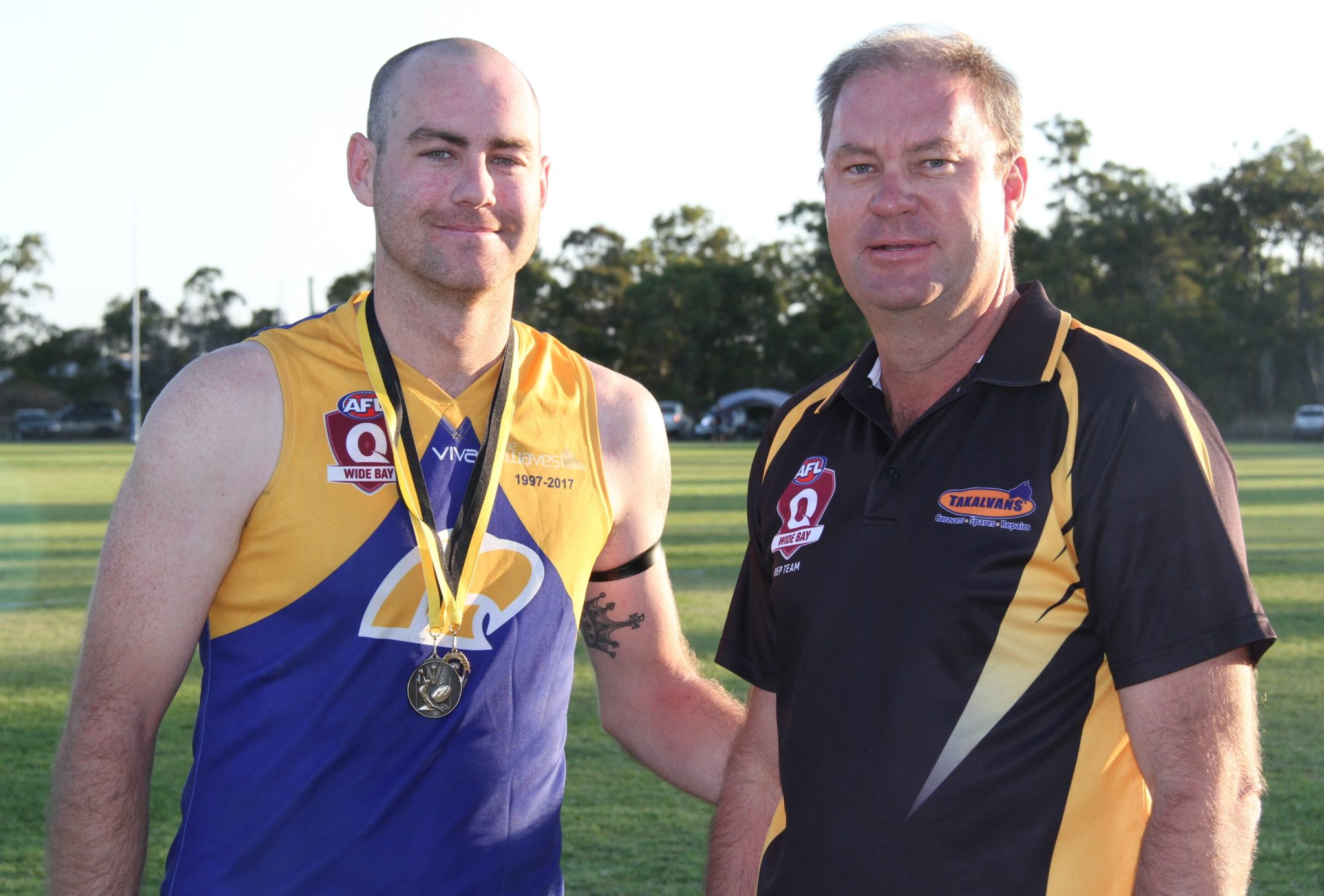 AFL Wide Bay best and fairest